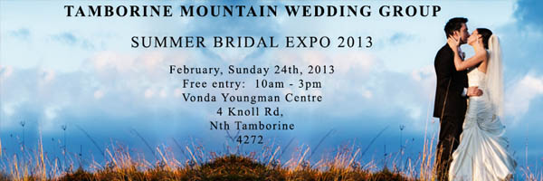 Tamborine Mountain Wedding Expo 2013
