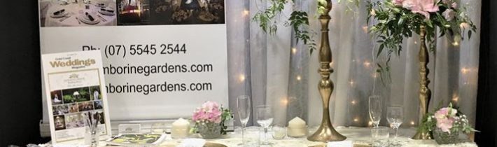 Our version of 'Glam' at the recent February expo for the beautiful Tamborine Gardens…