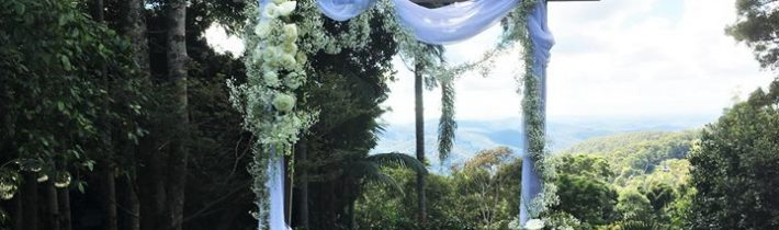 A gorgeous Mountain setting at St Bernards Hotel – Mt Tamborine for yesterday's wedding.…