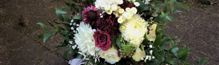 White with a touch of burgundy for Alanna and Rob at Tamborine Gardens Wedding…